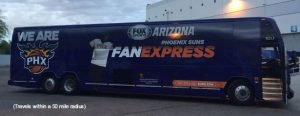 photo of Phx Suns Party Bus