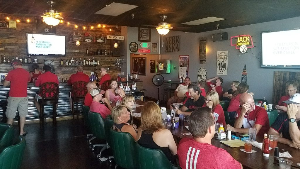 2018 End 0f Season Punch Card Party Jan  6, 12 noon - Huskers